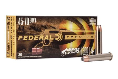 Federal 45-70 Government 300 gr Bonded SP HammerDown 20/Box