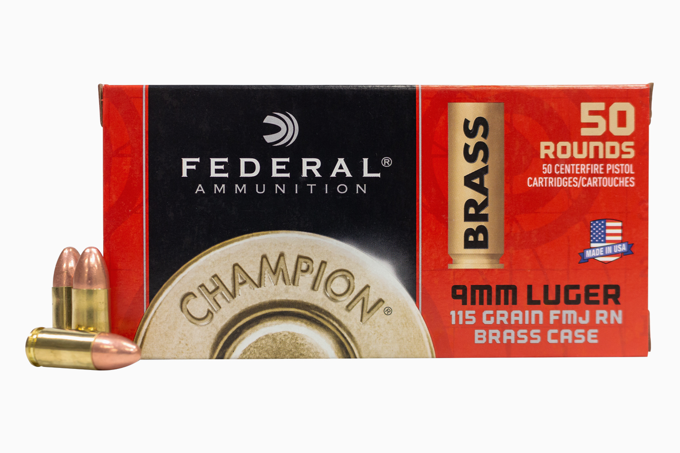 9MM 115 GR FMJ CHAMPION TRAINING