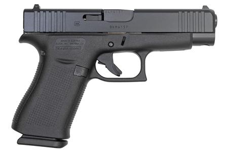 GLOCK 48 9MM 10-ROUND PISTOL WITH BLACK FINISH (MADE IN USA)