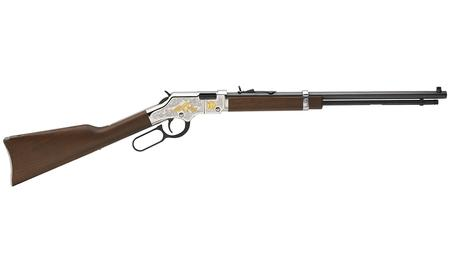 HENRY REPEATING ARMS GOLDEN BOY 22 CAL SECOND AMENDMENT TRIBUTE EDITION