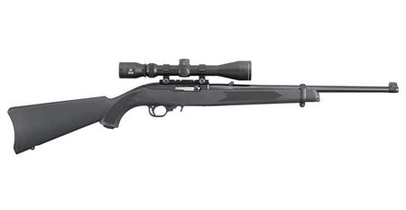 RUGER 10/22 22LR Rimfire Carbine with Viridian EON 3-9x40mm Scope