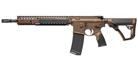 DANIEL DEFENSE DDM4 M4A1 5.56 NATO 14.5 IN BBL FDE FLASHIDER PERMANENTLY ATTACHED