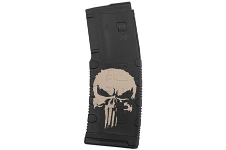 BLACK RAIN ORDNANCE 5.56mm 30-Round AR-15 Magazine with Punisher Decal