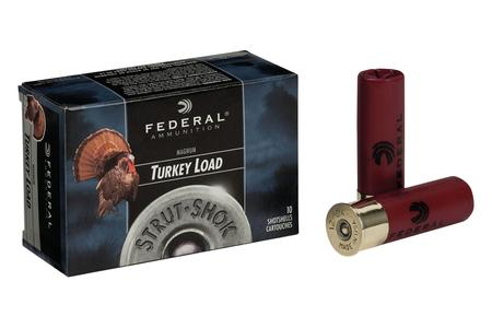 FEDERAL AMMUNITION 12 Gauge 3 in 1-7/8 oz 5 Shot Strut-Shok Turkey 10/Box