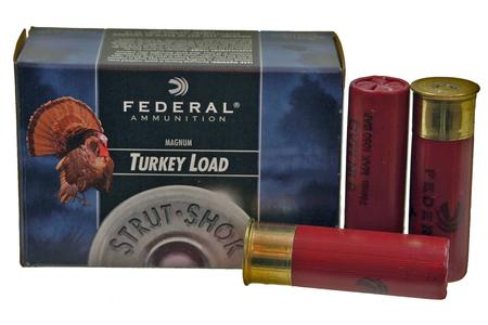 Federal 12 Gauge 3-1/2 Inch 2 oz 5 Shot Strut-Shok Turkey 10/Box
