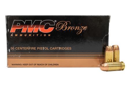 PMC 40SW 165 gr FMJ Bronze Police Trade Ammo 50/Box