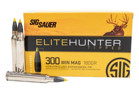 SIG SAUER 300 Win Mag 180 gr Elite Hunter Tipped 20/Box