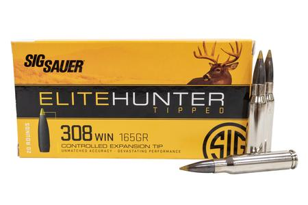 Sig Sauer 308 Win 165 gr Elite Hunter Tipped 20/Box