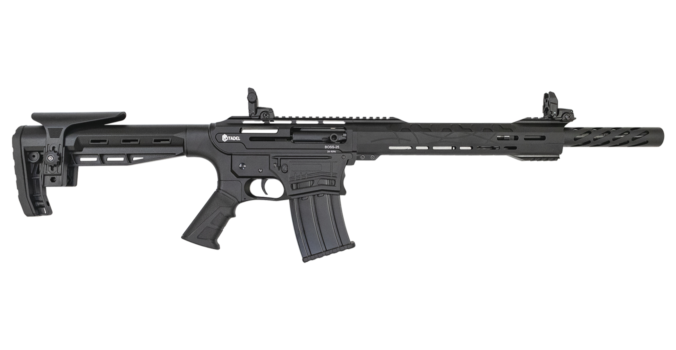 BOSS-25 12 GAUGE AR-STYLE SEMI-AUTOMATIC SHOTGUN