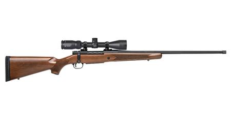 MOSSBERG PATRIOT 338 WIN MAG 24` BBL WOOD STK VORTEX SCOPE