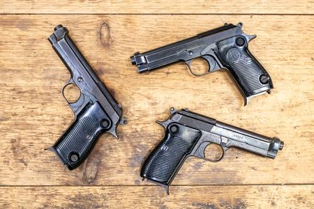 BERETTA MODEL 1951 SURPLUS 9MM USED PISTOLS