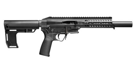 POF REBEL .22 LONG RIFLE SEMI-AUTOMATIC PISTOL WITH BLACK ANODIZED FINISH