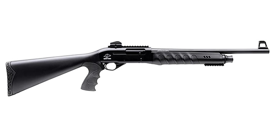 WARTHOG 12 GAUGE TACTICAL PISTOL GRIP SHOTGUN WITH RAISED TACTICAL FRONT SIGHT