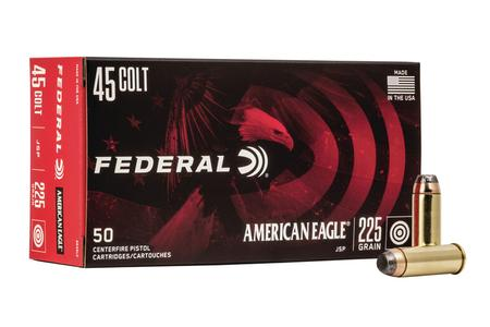 FEDERAL AMMUNITION 45 Colt 225 gr Jacketed Soft Point 50/Box