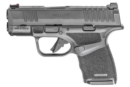 SPRINGFIELD HELLCAT 9MM FIBER OPTIC FS 3` BBL