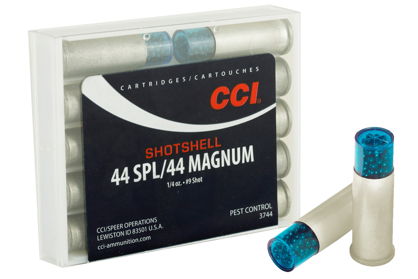 44 SPL/MAG SHOTSHELL 9 SHOT