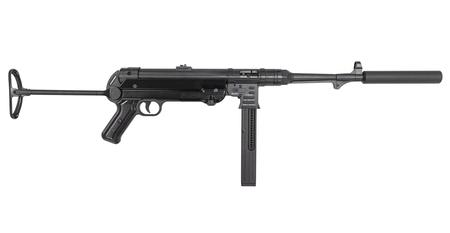 BLUE LINE SOLUTIONS MAUSER MP-40 22LR CARBINE WITH FAUX SUPPRESSOR