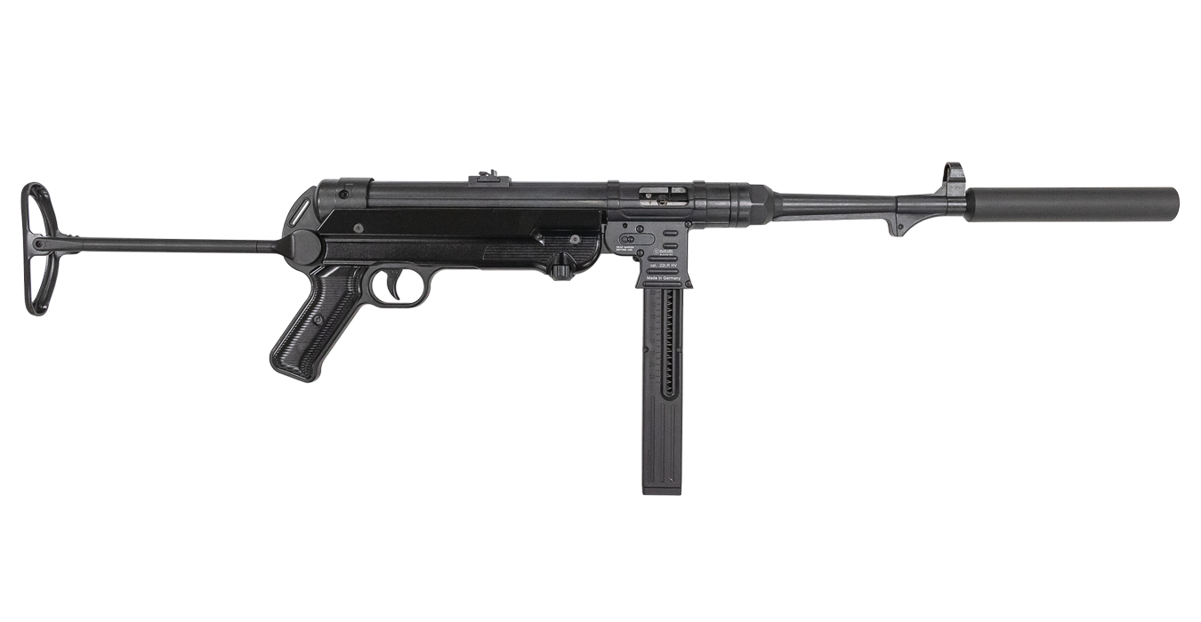 MAUSER MP-40 22LR CARBINE WITH FAUX SUPPRESSOR