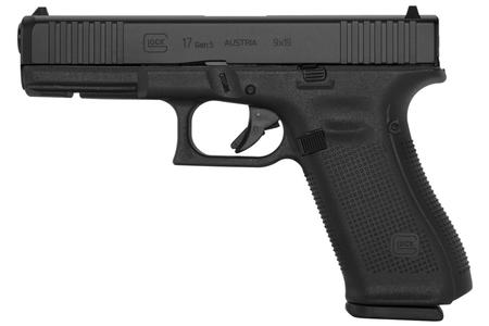 GLOCK 17 GEN5 9MM FULL-SIZE PISTOL WITH FRONT SERRATIONS (10-ROUND MODEL)