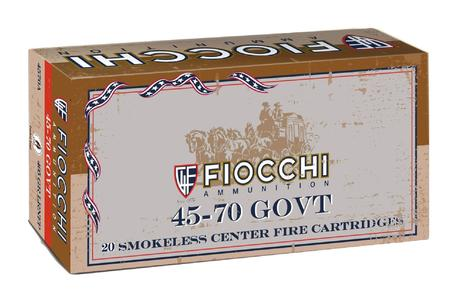 FIOCCHI 45-70 Govt 405 gr Lead Round Nose Flat Point 20/Box