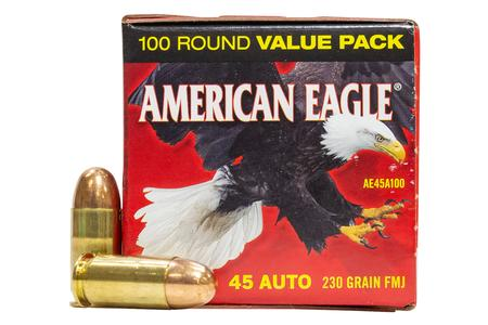 Federal 45 ACP 230 gr FMJ Police Trade-In Ammo 100/Box