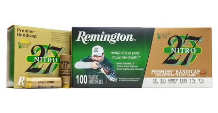 Remington 12 Gauge 2-3/4 in 1-1/8 oz 7.5 Shot  Nitro 27 100/Box