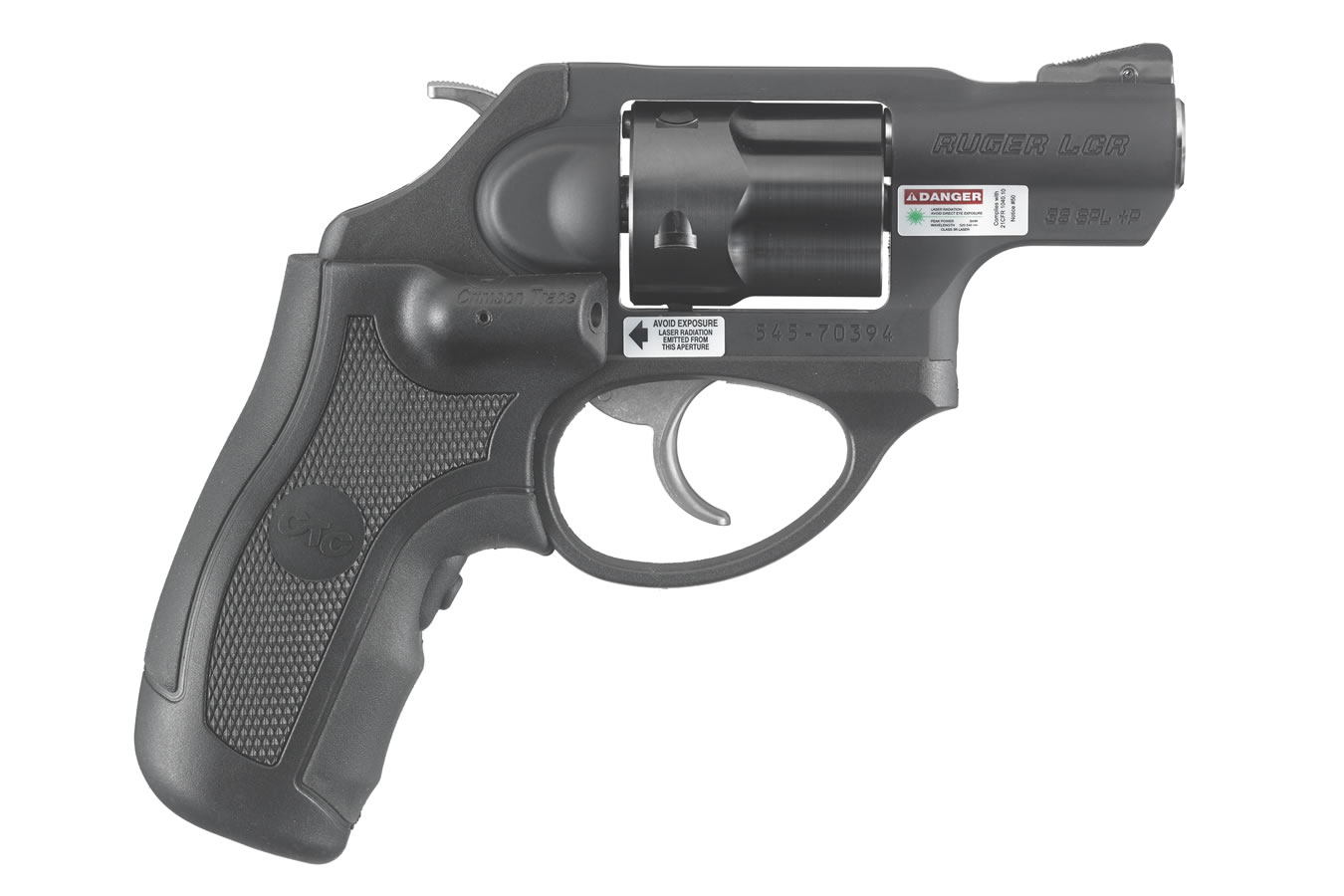 No. 8 Best Selling: RUGER LCR 38 SPL