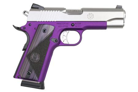 RUGER SR 1911COMMANDER PURPLE FRAME 45 ACP