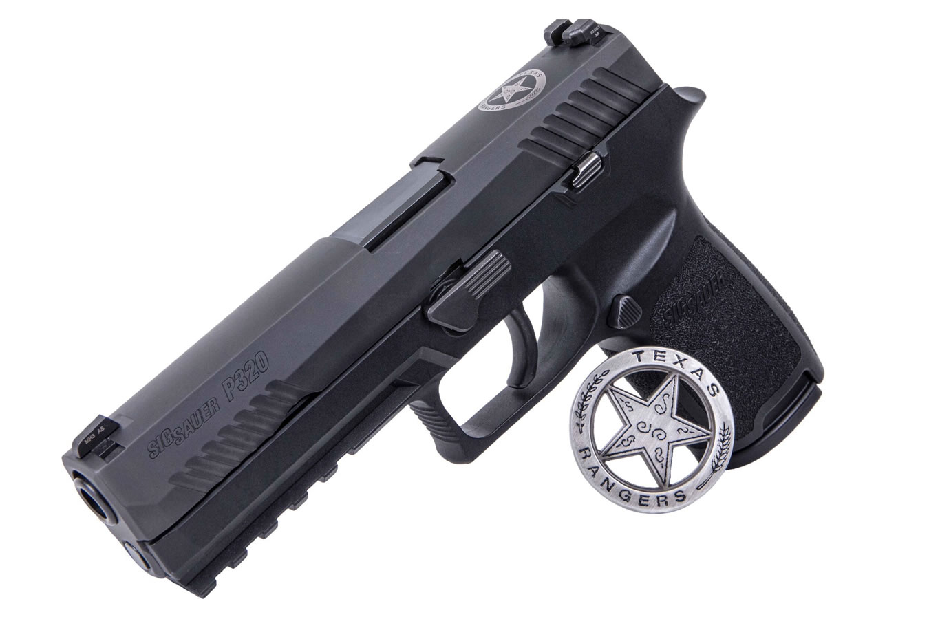 P320 FULL SIZE 9MM TEXAS RANGER EDITION