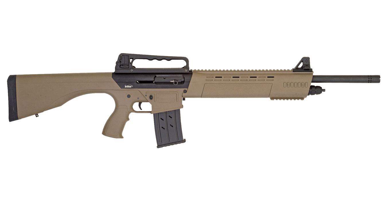KRX TACTICAL AR 12GA SHOTGUN 20` BBL FDE