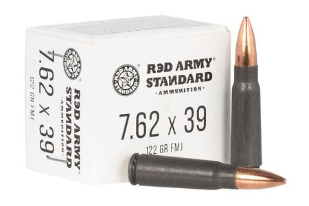 RED ARMY STANDARD 7.62x39mm 122 gr FMJ Red Army Standard 20/Box