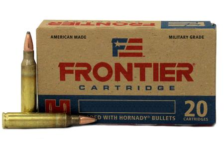 Hornady 223 Rem 55 gr Spire Point Frontier 20/Box