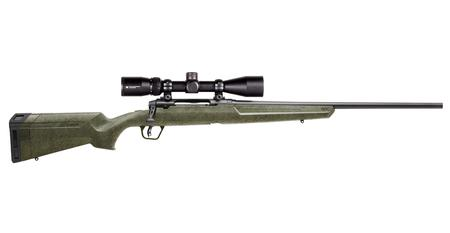 SAVAGE AXIS II 308 WIN GREEN W/BLACK WEB STOCK