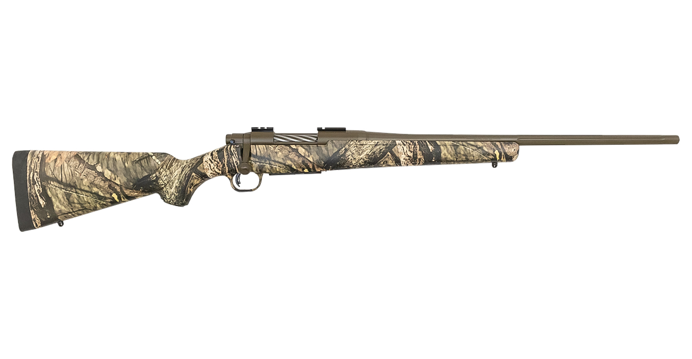No. 15 Best Selling: MOSSBERG PATRIOT 350 LEGEND 22`BRL MOSSY OAK BRA-UP CAMO/BROWN CERAKOTE FINISH