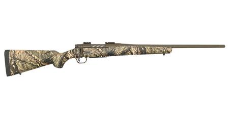 MOSSBERG PATRIOT 350 LEGEND 22`BRL MOSSY OAK BRA-UP CAMO/BROWN CERAKOTE FINISH