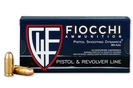 Fiocchi 380 Auto 95 gr FMJ 50/Box