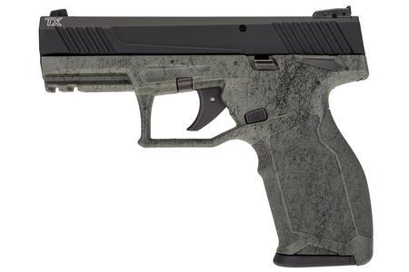 TAURUS TX22 22LR BLACK/GREENSPLATTER