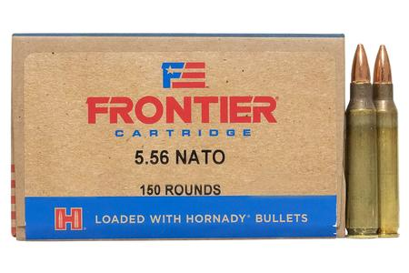 HORNADY 5.56mm NATO 62 gr FMJ Oriented 150/Box