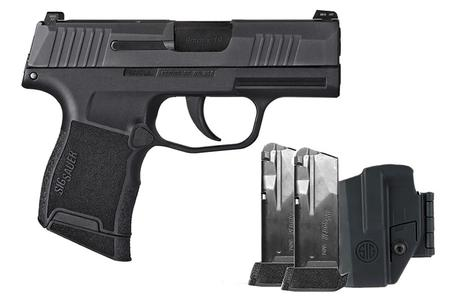 SIG SAUER P365 9MM TACPAC W/3 MAGS AND HOLSTER NMS