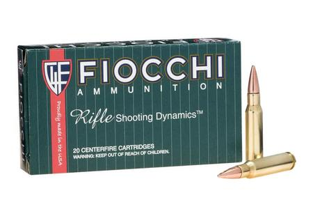 Fiocchi 308 Win 150 gr FMJ-BT Shooting Dynamics 20/Box