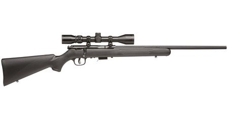 SAVAGE 93R17 FXP RIFLE PACKAGE 17 HMR W/ SCOPE