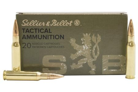 Sellier And Bellot 308 Win 147 gr FMJ Tactical 20/Box
