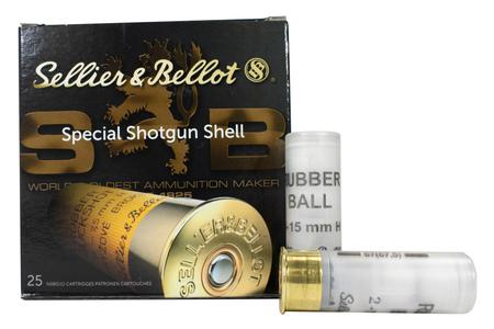 SELLIER AND BELLOT 12 Gauge 2-3/4 in 11/16 oz 17.5mm Shot 25/Box