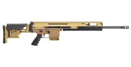 FNH FN 38100545 SCAR 20S 7.62X51MM NATO 20` 10+1 FDE BLACK ADJ STK HOGUE GRIP