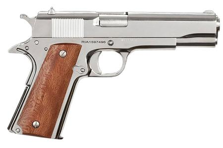 ROCK ISLAND ARMORY 1911 GI STANDARD 38 SUPER NICKEL PLATED PISTOL