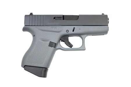 GLOCK 43 9MM PISTOL WITH CERAKOTE CONCRETE GRAY FRAME