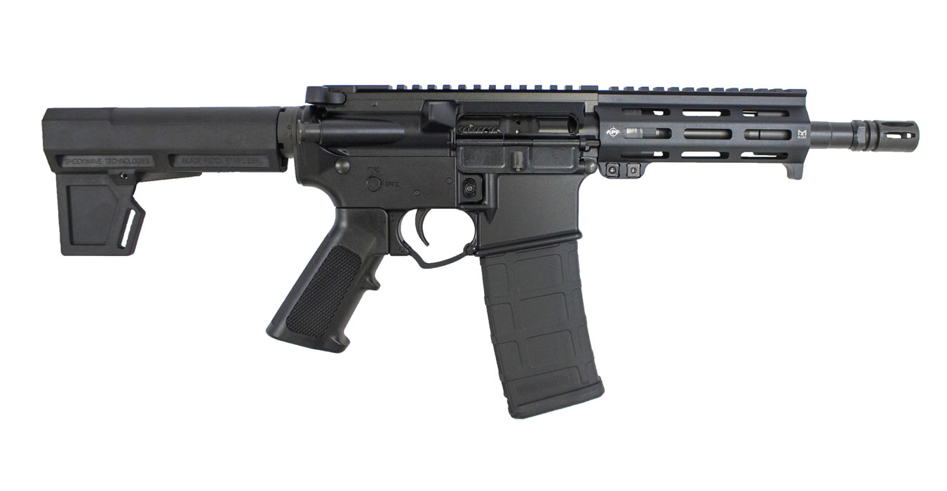 ECONO 5.56MM SEMI-AUTO AR15 PISTOL WITH SHOCKWAVE PISTOL BRACE
