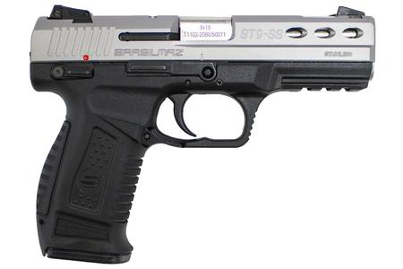 SAR USA ST9 9MM PISTOL WITH SLOTTED SLIDE PORTED STAINLESS STEEL