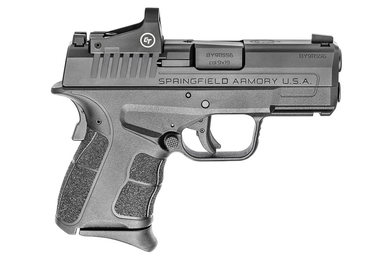 No. 9 Best Selling: SPRINGFIELD XDS MOD.2 OSP 3.3 9MM WITH CRIMSON TRACE RED DOT