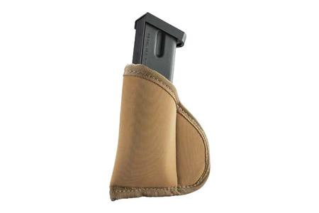 TECGRIP ISP/IWB FULL SIZE SINGLE/DOUBLE STACK MAG POUCH COYOTE TAN
